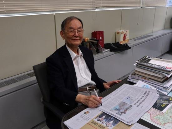 임시정부의 산증인, 김자동 회장을 만나다