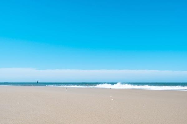 그림 같은 해변.