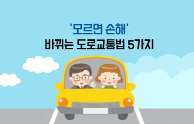 '모르면 손해' 바뀌는 도로교통법 5가지;JSESSIONID_KOREA=YRzJbq7G2pnLK12rQv9yny0hjcdpyKhvTGYbJ7LTbCCYlWVfxqf6!-963624546!2026687252
