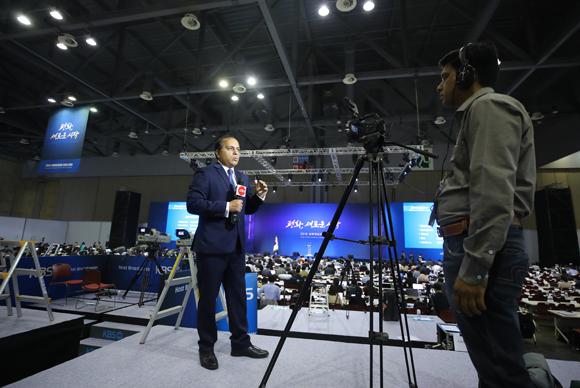 국내 상주 외신기자 300명 돌파…해외언론 관심 증가