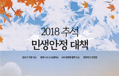 [추석 민생대책] 고속도로 통행료 면제·고궁 박물관 무료