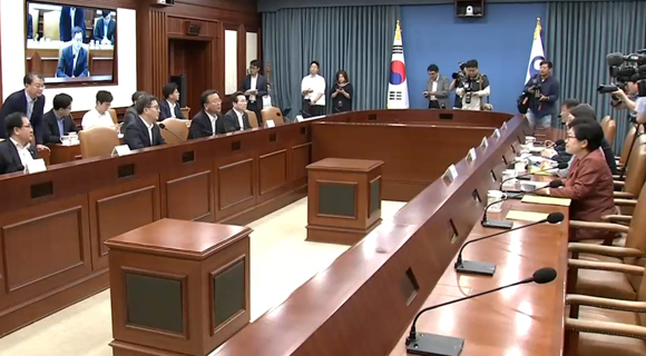 김동연 경제부총리 주재의 경제관계장관회의. (사진=KTV 국민방송)