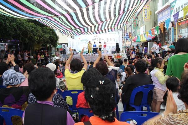 추석 한가위 한마당 축제로 시장이 들썩