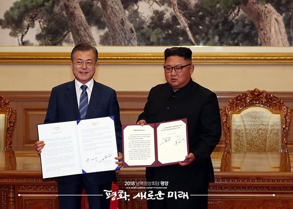 """""""한반도, 핵무기·핵위협 없는 평화의 터전으로"""""""
