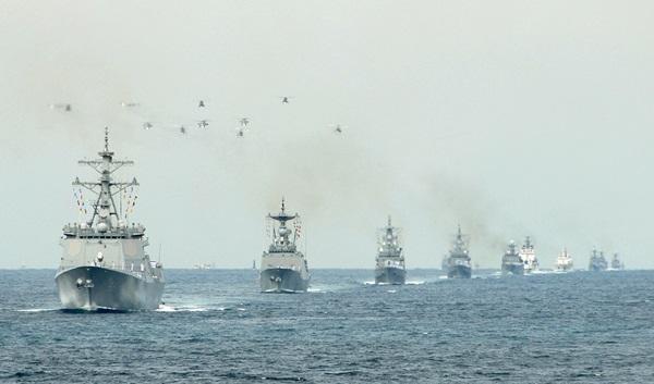 10일부터 14일까지 제주도에서 국제관함식이 열린다.(사진=해군, 뉴스1)