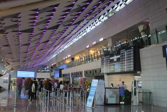 리모델링을 마친 김포공항.