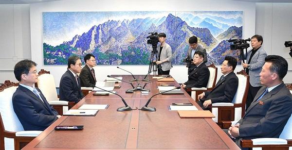 6월 18일 남북체육회담 (사진=공동취재단)
