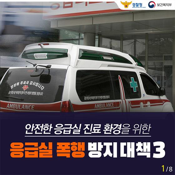 응급실 폭행 방지 대책 3