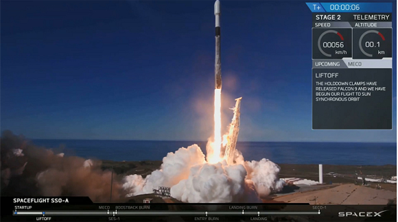 차세대소형위성 발사 성공…정상 궤도 진입·작동