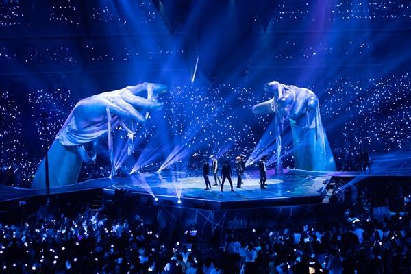 방탄소년단(BTS)이 지난해 말 일본 도쿄에서 열린