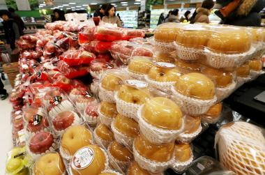 사과·배 등 설 성수품 공급 1.4배 늘린다