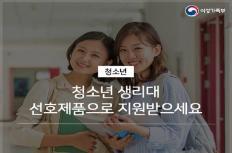 성인 여성의 시각으로 본 생리대 지원사업