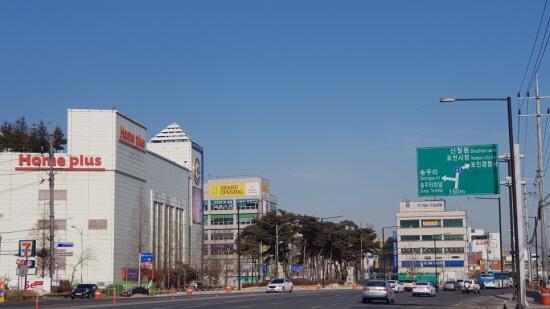 경기북부의 대표 도시 중 한곳인 포천시.