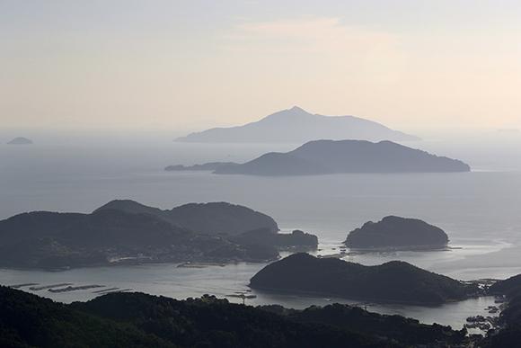 통영 앞 다도해. (사진=저작권자(c) 연합뉴스, 무단 전재-재배포 금지)