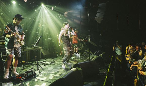 래퍼 화나의 2017년 6월 HIPHOPPLAYA SHOW 51 'FANACONDA Special' 단독 공연. (사진=저작권자(c) The Ugly Junction, 무단 전재-재배포 금지)