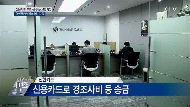 신용카드 부조·스위치형 보험···혁신금융 9건 지정