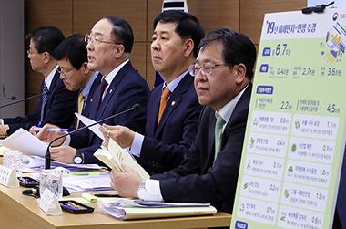 미세먼지 대응·민생경제 지원…추경 6조 7000억 편성
