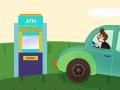 차에 탄 채 현금인출·대출비교 앱