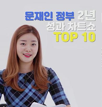[꿀뉴스] 국민감동! 문재인 정부 출범 2년 성과 차트쇼 TOP 10