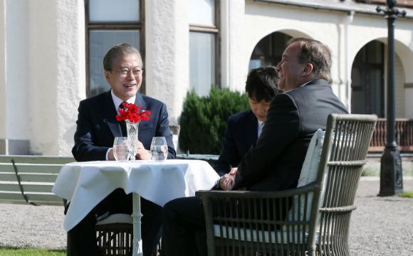 한·스웨덴 정상회담…신산업 협력 강화·포용국가 비전 공유