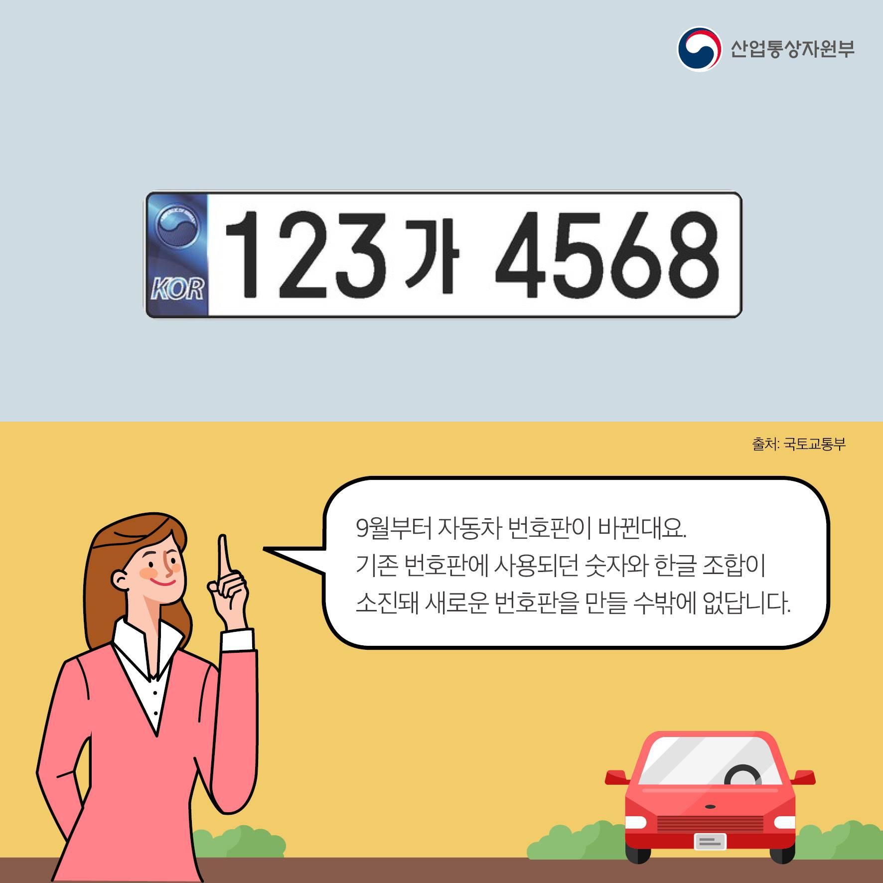 자동차 번호판, 그것이 궁금하다