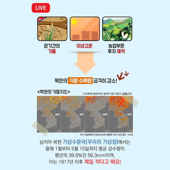 대체 왜! 우리가 북한에 식량을 지원할까요?