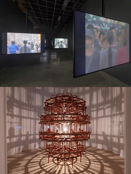 ⓒ 국립현대미술관, 청주관 5층 기획전시실에 전시된 작품들