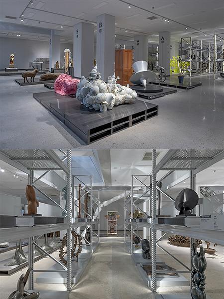ⓒ 국립현대미술관, 청주관 1층 개방 수장고 전경
