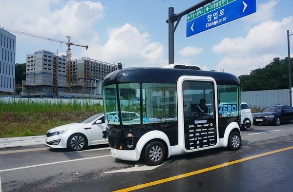 세종시에 자율차가 상용화되면 어떤 모습일까? 판교에 가서 자율주행차량을 직접 타보니 생각보다 빠른 기술 발달에 놀랐다.