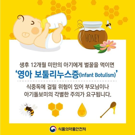 1세 미만 아기에게 벌꿀 먹이면 안되는 이유는?