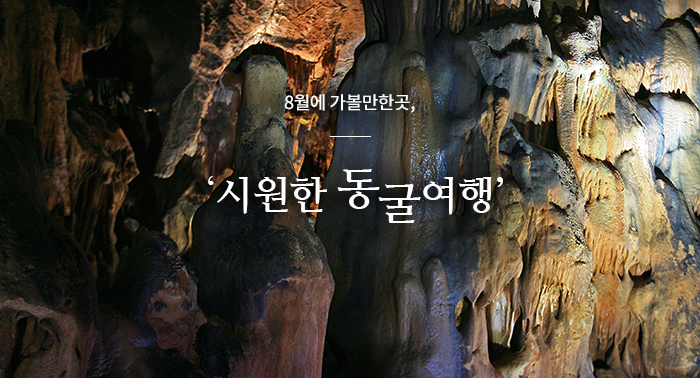 8월에 가볼만한 곳, '시원한 동굴여행'