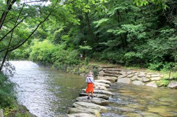 8월 걷기여행길, 자연휴양림 5곳
