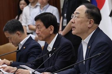 """홍 부총리 """"하반기 16조 5000억 SOC 신속 집행하겠다"""""""