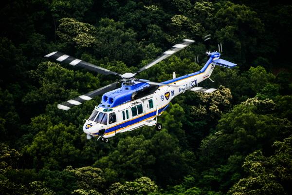 경찰청 헬기 항공 영상은 범인 추적에 가장 큰 역할을 담당하며 112상황실로 실시간 정보를 제공한다.