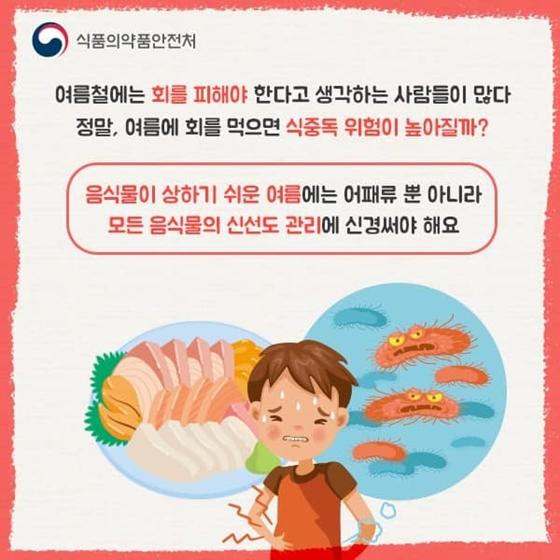 여름에 회 먹으면 식중독 위험 높아질까?