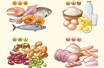 영양 결핍으로 인한 질병 및 예방식품