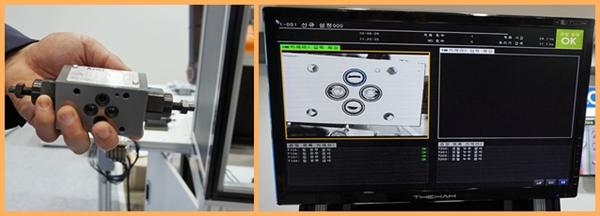 (좌) 과거 사람이 직접 육안으로 점검 (우) 현재 카메라 시스템이 자세히 분석