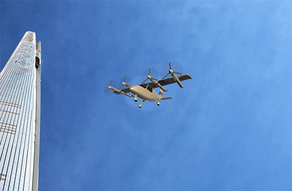 개인비행체(PAV) 시제기 형상