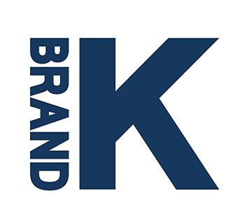 '브랜드 K' 로고.