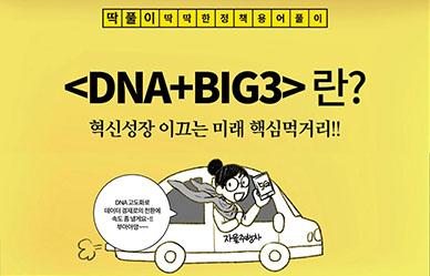 딱딱한 정책 용어 풀이, 딱풀이 - 2020 예산안[DNA+BIG3]