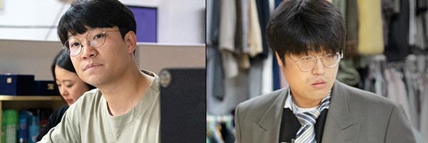 <거룩한 양복>의 김동민 연출가(왼쪽)와 김수철 배우. (사진=부마민주항쟁기념재단 제공)