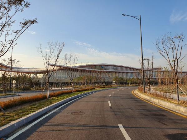 신국제여객터미널 전경