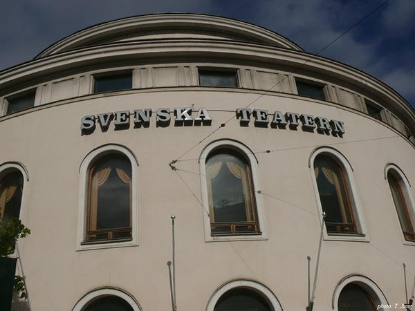 스웨덴어 극장. 시벨리우스가 <핀란드여, 깨어나라!>에 부친 음악이 초연된 곳이다.