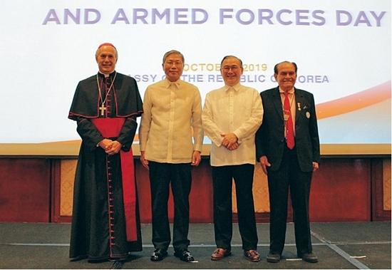 올해 국군의 날에 열린 기념행사 (사진=주 필리핀 대한민국 대사관)