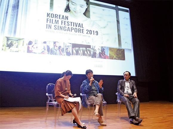 10월 18~27일 싱가포르에서 열린 한국영화제.(사진=주 싱가포르 대한민국 대사관)