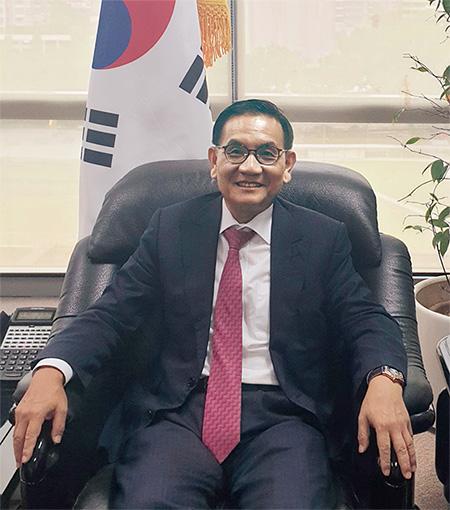 안영집 주 싱가포르 대한민국 대사.(사진=주 싱가포르 대한민국 대사관)