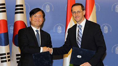 한-헝가리, 소재부품 기술협력 강화…교역·투자 확대 추진