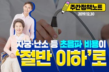 [주간정책노트] 내년 2월부터 자궁·난소 초음파 비용 절반 이하로