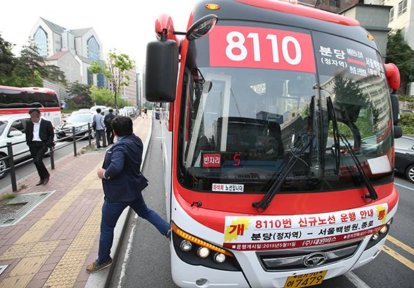 M버스 기점에 정류소 2곳 더 만든다…부산·대구로도 운행 확대