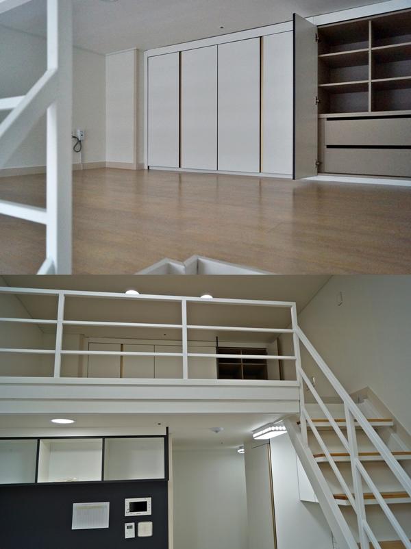 서울 구의동 기숙사형 청년주택 중 일부는 복층형이다.